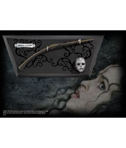 Bellatrix Lestranges tryllestav med display fra The Noble Collection