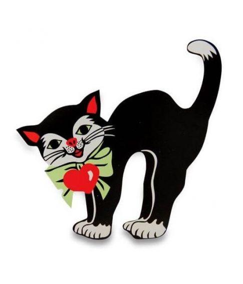 Pap kat til fastelavnstønderne.