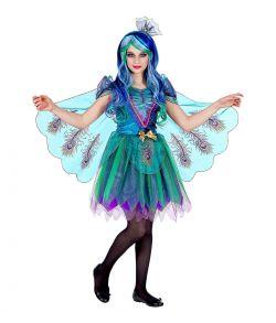 Påfugl kostume kostume til piger.
