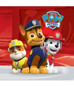 Flotte servietter med Paw Patrol Ready for Action.