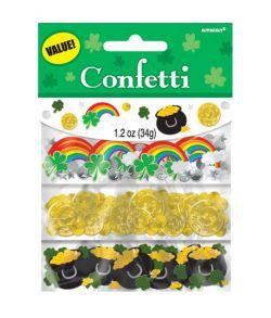 Pakke med 34 g. Sankt Patricks dag konfetti