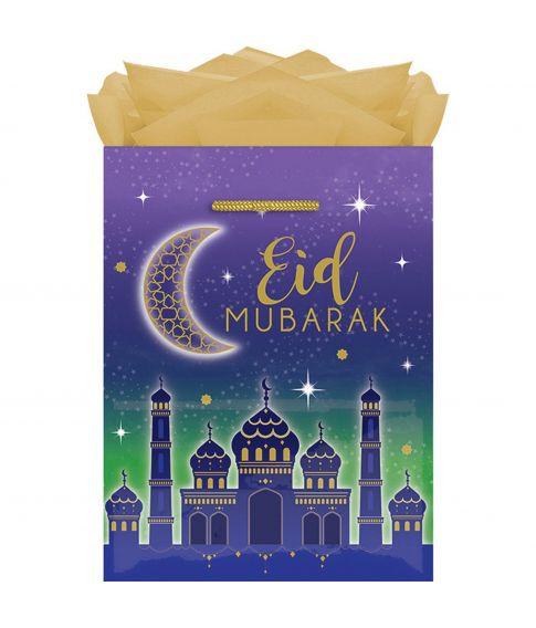 Papir gave pose med snor til Eid festen.