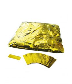 Langsomt faldende guld folie konfetti.