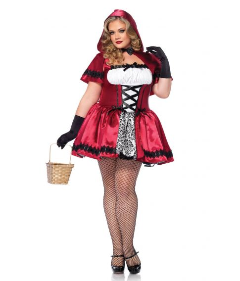 Rødhætte kostume til voksne - Fest & Farver