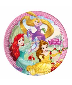 Disney Prinsesser tallerkner i pap.