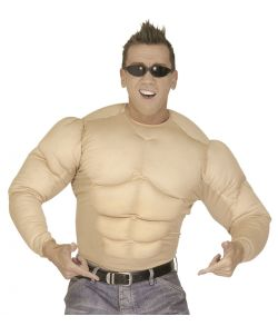 Supermuskler kostume - Stærk mand kostume