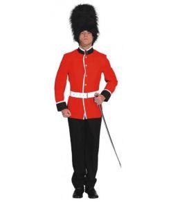 Rød Garder jakke i god kvalitet med bælte til udklædning.
