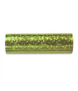 Grønne serpentiner, holografiske.