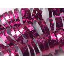 Pink holografisk serpentin