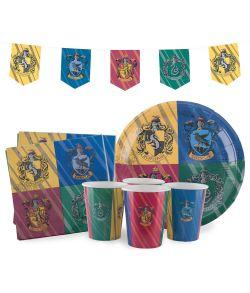 Harry Potter fødselsdagssæt til 8 gæster til børnefødselsdagen.