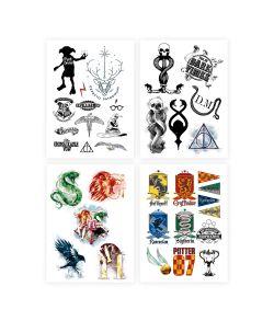 Harry Potter tatoveringer fra Cineraplicas.