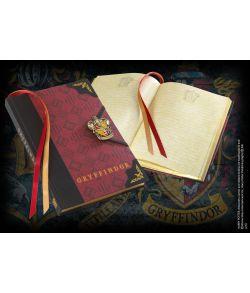 Harry Potter Gryffindor dagbog med våbenskjold.