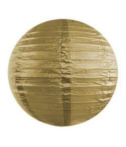 Guld rispapir lampeskærm