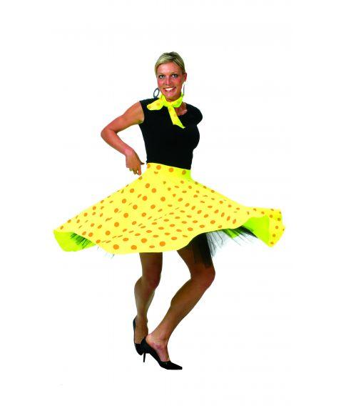 Gul nederdel
