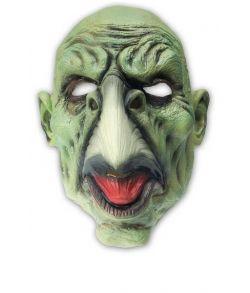 Zombie maske med næb.