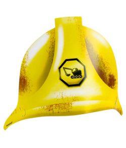 8 stk. billige Construction sikkerheds hjelm partyhat i pap