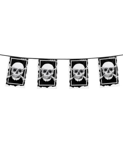 Flot pirat guirlande med bannere