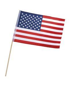 Billigt amerikansk flag i polyester på pind