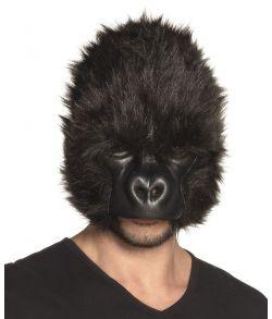 Flot gorilla plush halvmaske