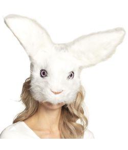 Flot kanin plush halvmaske
