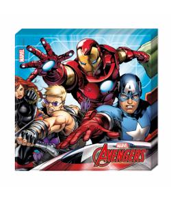 20 stk flotte Avengers 2-lags servietter.