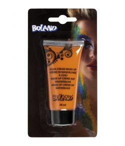 Orange vandbaseret make-up creme på tube