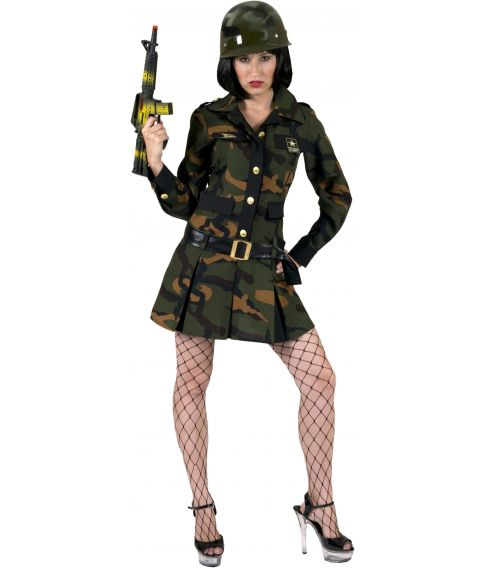 Military Lady