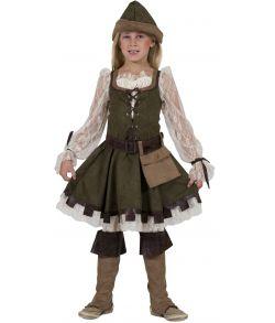 Robin Hood kostume til piger