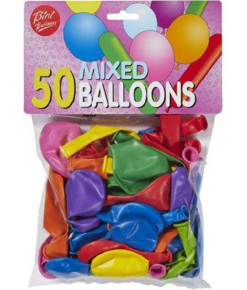 50 balloner