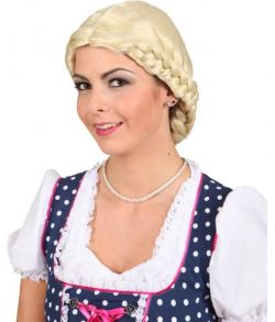 Bavarian lady paryk blond