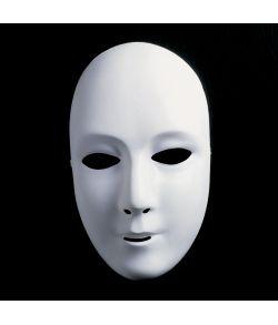 Hvid maske, kvinde