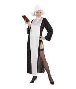 Nonne kostume til sidste skoledag.