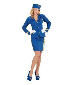 Køb flot Stewardesse kostume hos Fest & Farver