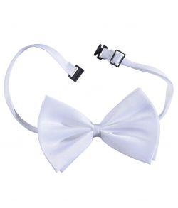 Hvid butterfly til kostume.