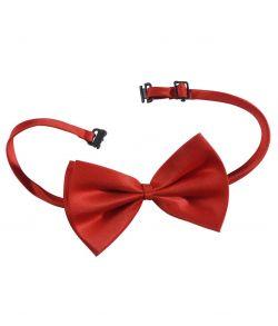 Køb billig rød butterfly med justerbar snøre til kostume.