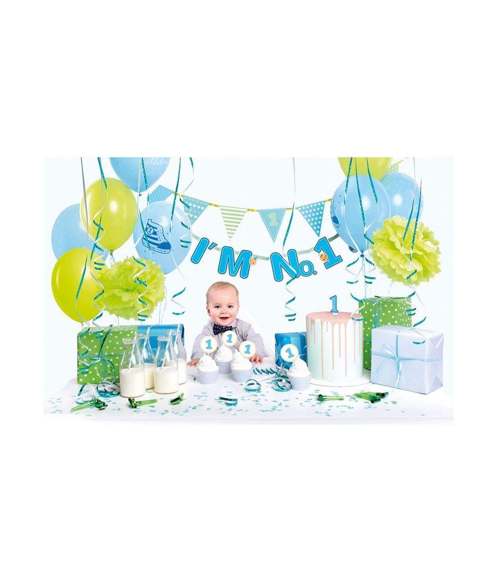 Virkelig stort og flot dekorations sæt til den første fødselsdag