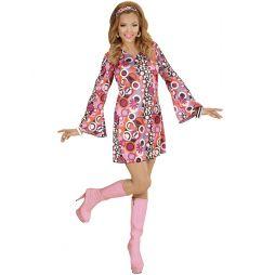Smart kjole til 70er udklædningen.