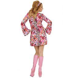 Flot kostume til 70er festen.
