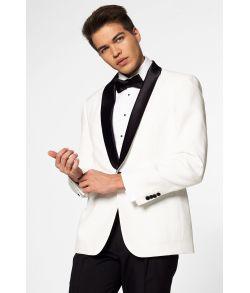 Flot hvid OppoSuit Tuxedo.