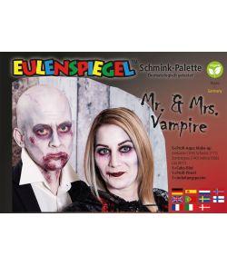 Mr. & Mrs. Vampire pallette halloween sminkepalette.