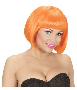 Neon orange page paryk.