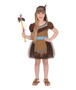 Indianer pige kostume.
