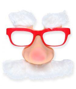 Sjov Julemandsbriller.