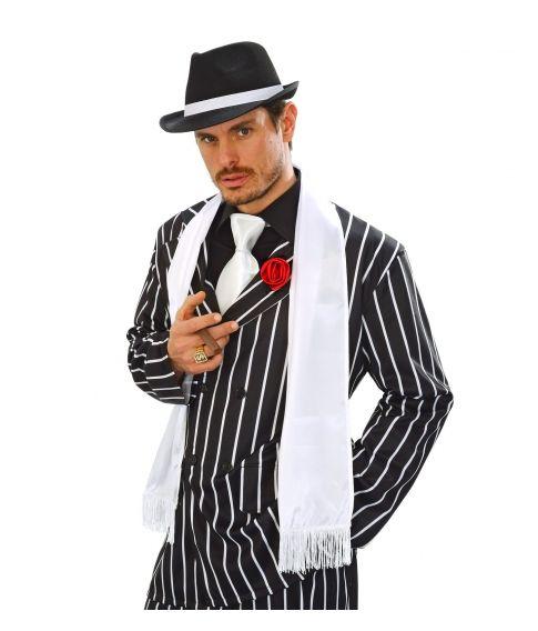 Satin tørklæde til gangster udklædningen.
