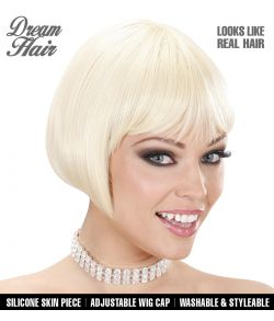 Blond page paryk.