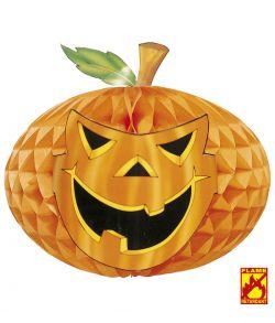 Papirvæv græskar i brandhæmmende papir til halloween.