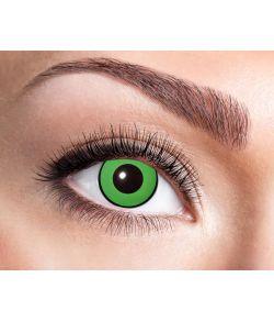 Billige grønne kontaktlinser.