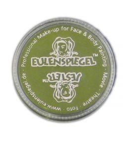 Grøn creme sminke med god dækkeevne fra Eulenspiegel.