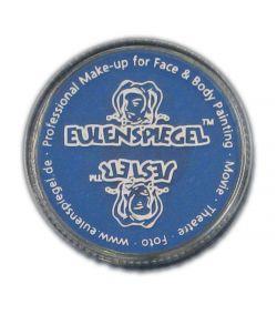 Blå creme sminke med god dækkeevne fra Eulenspiegel.