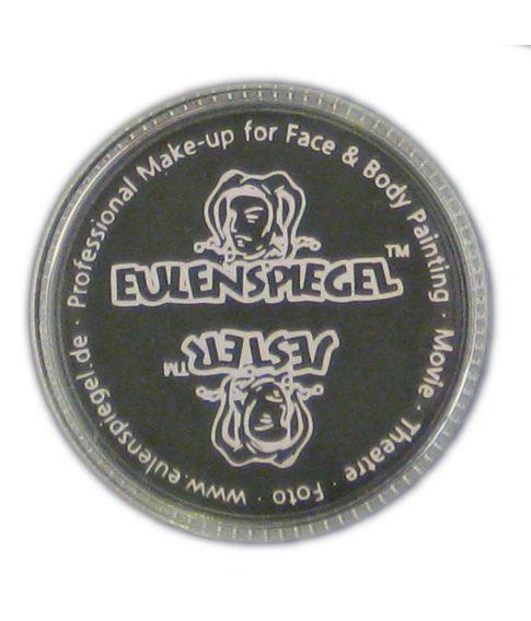 Sort creme sminke med god dækkeevne fra Eulenspiegel.